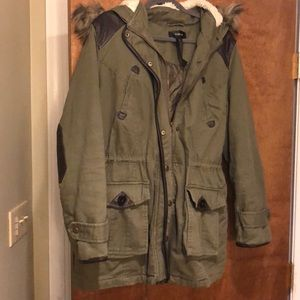 Style & Co Army Green Jacket